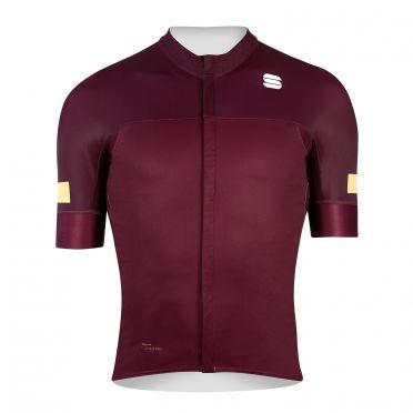 Sportful Classic fietsshirt korte mouwen rood heren
