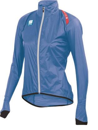 Sportful hot pack 5 fietsjack blauw dames 01137-274