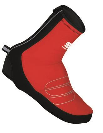 Sportful Reflex WS overschoenen zwart-rood 01294-567