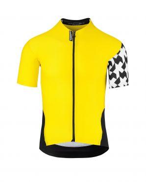 Assos SS.Équipejersey_Evo8 fietsshirt geel heren