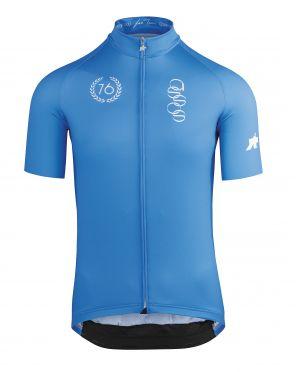 Assos ForToni korte mouw fietsshirt azzurro heren