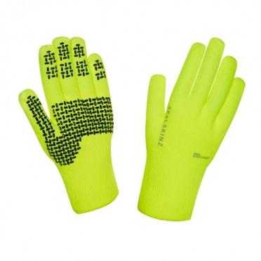 SealSkinz Ultra grip fietshandschoenen geel