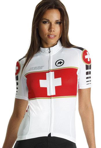 Assos SS.suisseOlympiakos_s7 fietsshirt unisex