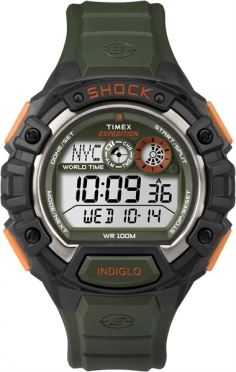 Timex Expedition Global Shock Groen/Oranje