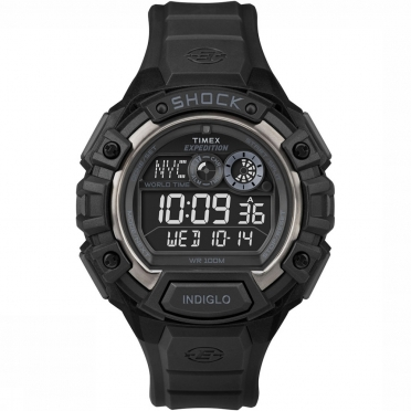 Timex Global Shock horloge zwart