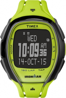 Timex Sleek 150 sporthorloge groen 46mm