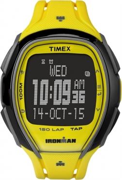 Timex Sleek 150 sporthorloge neon geel 46mm