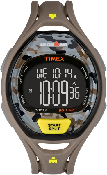 Timex Sleek 50 Camo Brown 42 mm