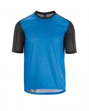 Assos Trail SS fietsshirt blauw heren