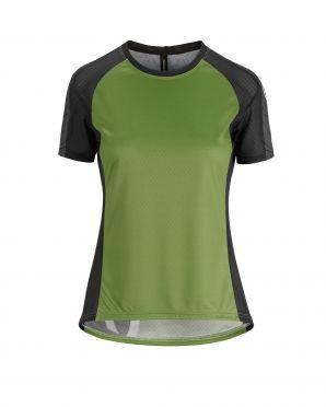 Assos Trail SS fietsshirt groen dames