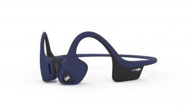 Aftershokz Trekz air midnight blue sport hoofdtelefoon