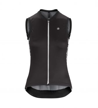 Assos UMA GT NS mouwloos fietsshirt zwart dames