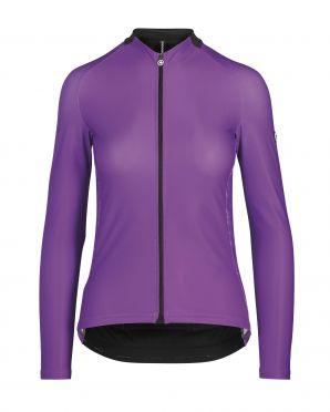 Assos UMA GT spring/fall LS fietsshirt paars dames