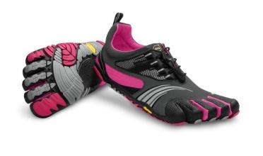 Fivefingers KMD Sport LS dames grijs/zwart/roze