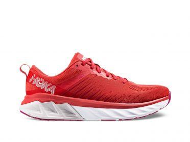 Hoka One One Arahi 3 hardloopschoenen rood dames