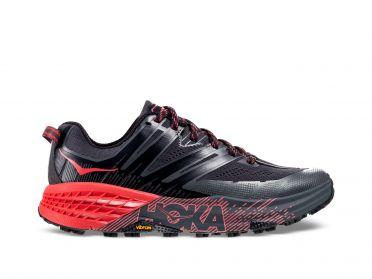 Hoka One One Speedgoat 3 trail hardloopschoenen zwart/roze dames