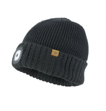 Sealskinz cold weather led beanie zwart