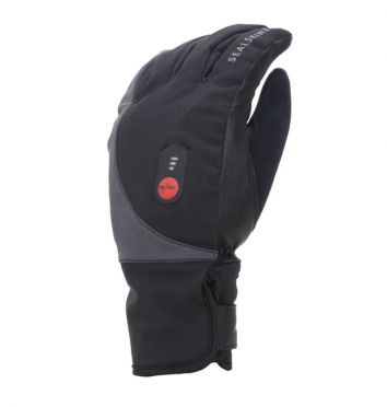 SealSkinz Cold weather verwarmde fietshandschoenen zwart