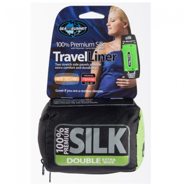 Sea to Summit Silk Double lakenzak  00976018