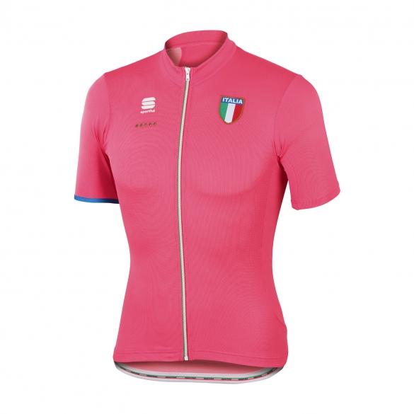 Sportful Italia CL fietsshirt roze heren  1101620-015