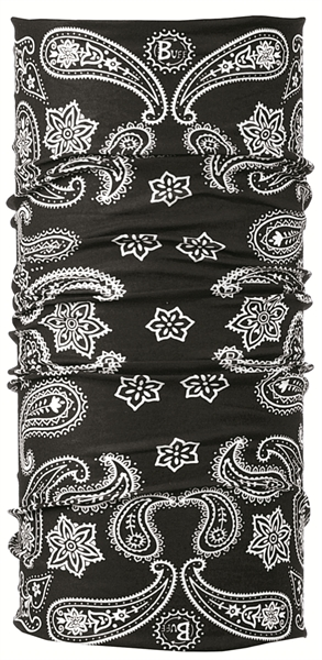 BUFF Original buff printed cashmere black  100407
