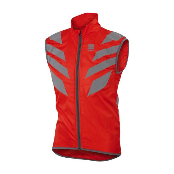 Sportful Reflex mouwloos vest rood heren  1101636-051