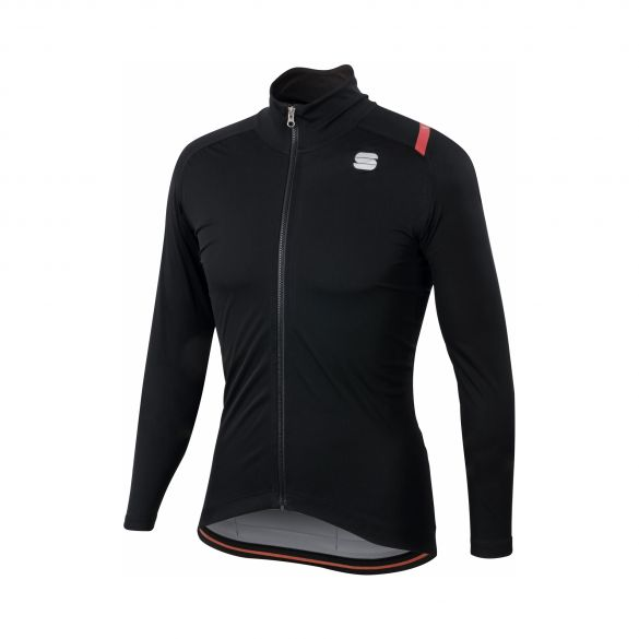 Sportful Fiandre ultimate 2 WS lange mouw jacket zwart heren  1101932-002