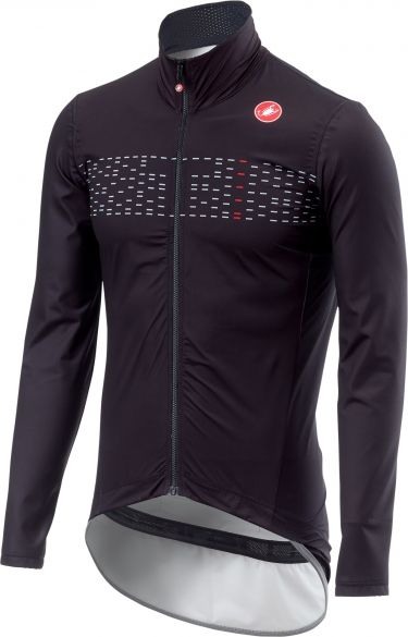 Castelli Pro fit light regen jacket zwart heren  18509-085