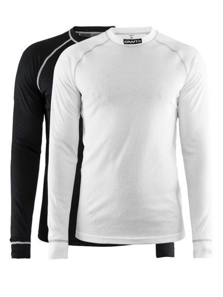 Craft Active Multi 2-pack top zwart/wit heren  1902365-9900