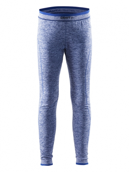 Craft Active Comfort lange onderbroek blauw kind/junior  1903778-1381