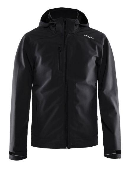 Craft Light softshell winterjas zwart heren  1903912-9999-VRR
