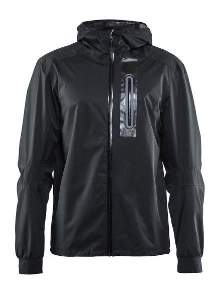 Craft ride regen fietsjacket zwart heren  1905008-9999