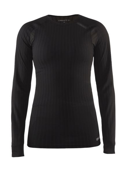 Craft Active extreme 2.0 lange mouw ondershirt zwart dames  1905517-9999