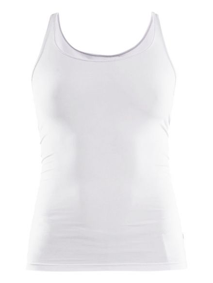 Craft Essential Singlet mouwloos ondershirt wit dames  1906047-900000