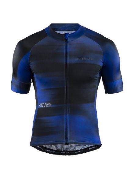 Craft CTM Aerolight fietsshirt blauw/zwart heren  1907146-999360-VRR
