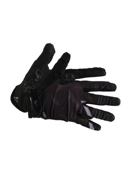 Craft Pioneer gel fietshandschoenen zwart  1907299-999000