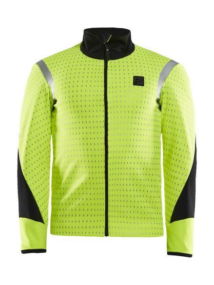 Craft Hale Subzero fietsjacket geel/zwart heren  1907807-851148-VRR