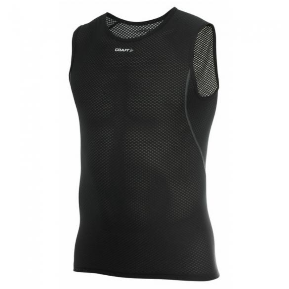 Craft Stay Cool Mesh Superlight mouwloos shirt zwart heren  194378-1999