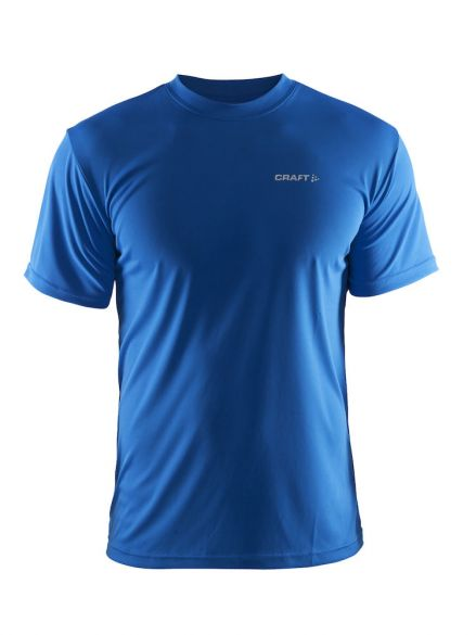 Craft Prime korte mouw hardloopshirt blauw heren  199205-1336