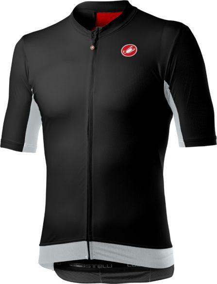 Castelli Vantaggio korte mouw fietsshirt zwart heren  20018-085
