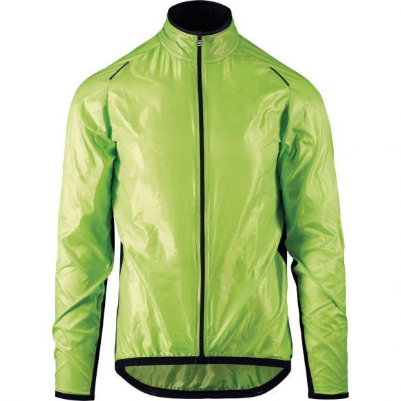 Assos Mille GT wind fietsjack groen heren  133233967-VRR