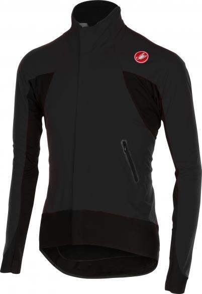Castelli Alpha wind jersey FZ zwart heren 14516-010  CA14516-010