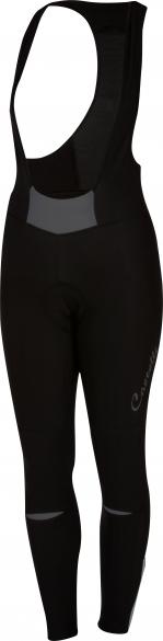 Castelli Chic bibtight zwart/antraciet dames 16551-009  16551-009