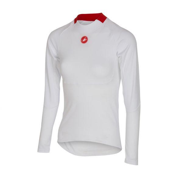 Castelli Prosecco W LS ondershirt dames wit 16555-001  16555-001