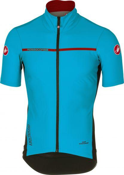 Castelli Perfetto light 2 korte mouw jacket sky blauw heren  17085-086
