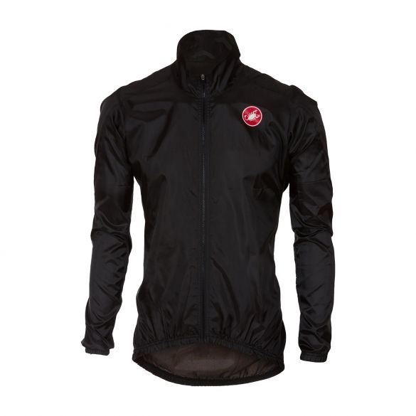 Castelli Squadra jacket regenjack zwart heren  17507-010