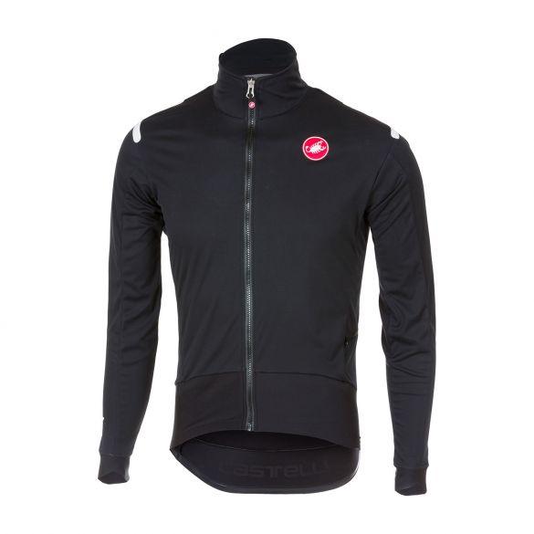 Castelli Alpha ros fietsshirt lange mouw zwart heren  17508-851