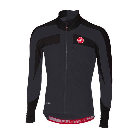 Castelli Trasparente 4 fietsshirt lange mouw zwart heren  17509-851