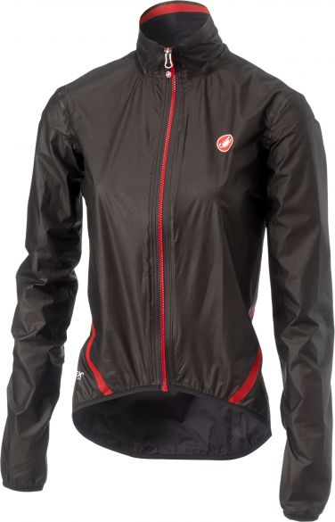 Castelli Idro W regen jacket zwart dames  18049-010