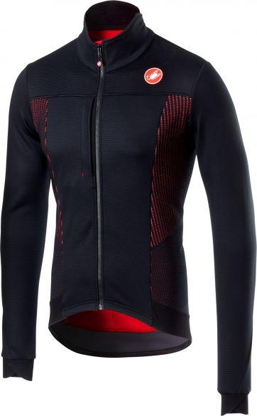 Castelli Espresso V lange mouw jacket zwart/rood heren  18504-085